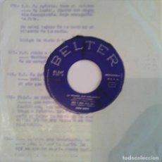 Discos de vinilo: KING BOYS - SABADO NOCHE - 1964 BELTER. Lote 99254759