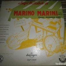 Discos de vinilo: MARINO MARINI - ALLEGRI BALLABILI DI LP 10 PULGADAS - DURIUM RECORDS 1955 - MONOAURAL -. Lote 99280835