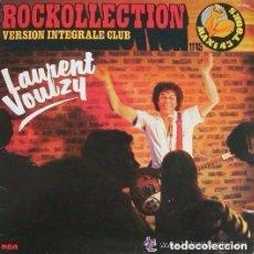 Discos de vinilo: LAURENT VOULZY, ROCKOLLECTION, MAXI-SINGLE FRANCE 1977. Lote 99284155