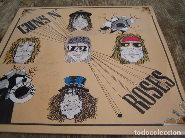 GUNS N'ROSES - 44 CALIBER ************** RARO LP ITALIANO LIVE 1991 (Música - Discos - LP Vinilo - Pop - Rock Extranjero de los 90 a la actualidad)