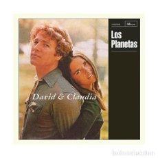 Discos de vinilo: LOS PLANETAS. DAVID Y CLAUDIA. SUBTERFUGE. Lote 99295147