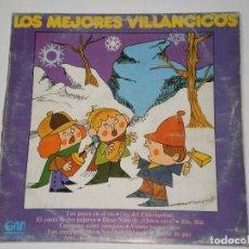 Discos de vinilo: LOS MEJORES VILLANCICOS , AÑO 1973 . LP 33 RPM ORIGINAL . GRAMUSIC. Lote 99298687