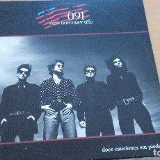 Discos de vinilo: 091 DOCE CANCIONES SIN PIEDAD LP 1989 ZAFIRO CON LETRAS. Lote 99300135