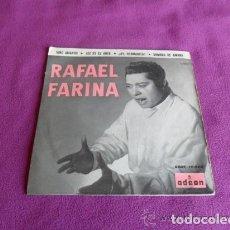 Discos de vinilo: RAFAEL FARINA - VINO AMARGO - 1958. Lote 99305511