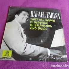 Discos de vinilo: RAFAEL FARINA - TWIST DEL FARAÓN - 1962. Lote 99306423