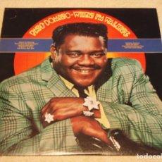 Discos de vinilo: FATS DOMINO ( WHEN I'M WALKING ) USA-1979 LP33 COLUMBIA. Lote 99309587