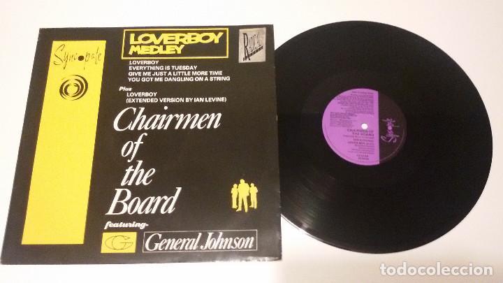 CHAIRMEN OF THE BOARD - LOVERBOY MEDLEY (Música - Discos de Vinilo - Maxi Singles - Funk, Soul y Black Music)