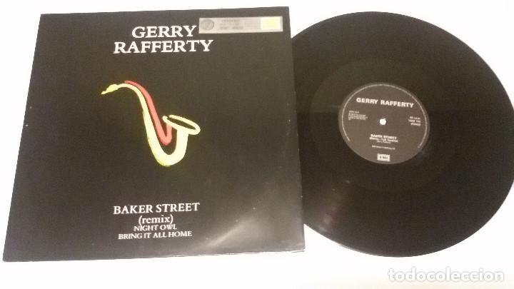 GERRY RAFFERTY - BAKER STREET (REMIX) (Música - Discos de Vinilo - Maxi Singles - Jazz, Jazz-Rock, Blues y R&B)