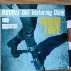 Disques de vinyle: SINGLE (VINILO) DE DOUBLE DEE FEATURING DANY AÑOS 90. Lote 99348007