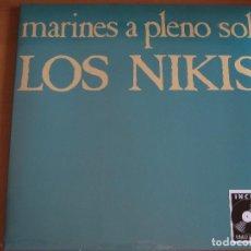 Discos de vinilo: LOS NIKIS: MARINES A PLENO SOL / AIRBAG, FANGORIA, RAMONES, DEPRESSING CLAIM, D.D.T.. Lote 132208641