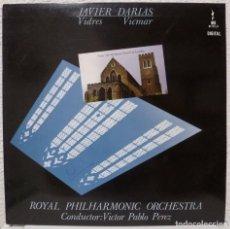 Discos de vinilo: JAVIER DARIAS - VIDRES · VICMAR (LP EMEC 1988). Lote 99367319