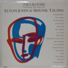Discos de vinilo: TWO ROOMS - ELTON JOHN & BERNIE TAUPIN (DOBLE LP MERCURY 1991 ESPAÑA). Lote 99367919