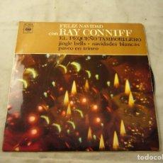 Discos de vinilo: RAY CONNIFF - FELIZ NAVIDAD CON RAY CONNIFF - EP. Lote 99371255