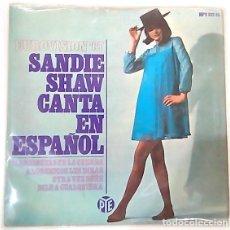 Discos de vinilo: SINGLE SANDIE SHAW. EUROVISIÓN 67. Lote 99373675