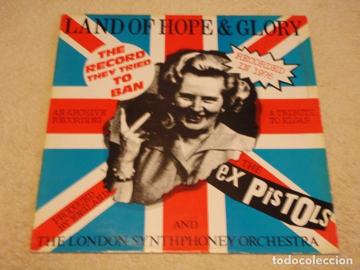 THE EX PISTOLS ''RECORDED 1976'' (LAND OF HOPE & GLORY - THE FLOWERS OF ROMANSK) 1984-FRANCE MAXI45 (Música - Discos de Vinilo - Maxi Singles - Punk - Hard Core)