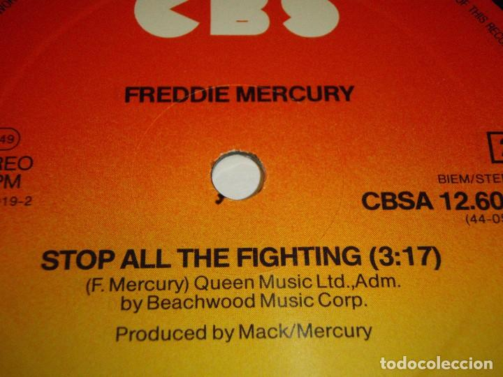 Discos de vinilo: Freddie Mercury – I Was Born To Love You (Extended Version) Maxi 45 Holanda 1985 CBS - Foto 4 - 99382955