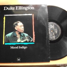 Discos de vinilo: DUKE ELLINGTON. LP MOOD INDIGO. MAESTROS DEL JAZZ. MADE IN SPAIN. 1988-1990. Lote 99383191