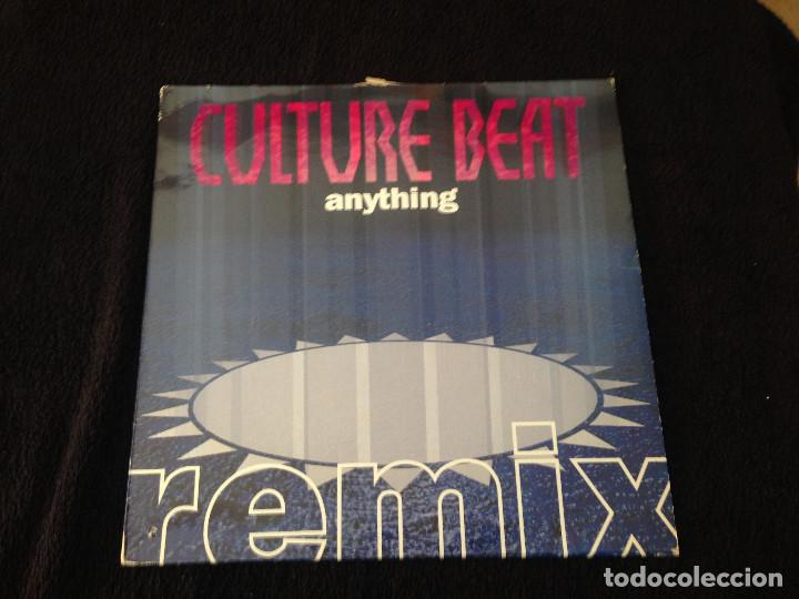 DOBLE MAXISINGLE CULTURE BEAT - ANYTHING - 1993 (Música - Discos de Vinilo - Maxi Singles - Disco y Dance)
