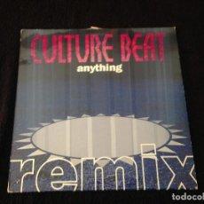 Discos de vinilo: DOBLE MAXISINGLE CULTURE BEAT - ANYTHING - 1993. Lote 99386979