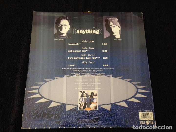 Discos de vinilo: DOBLE MAXISINGLE CULTURE BEAT - ANYTHING - 1993 - Foto 2 - 99386979