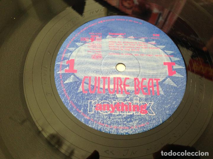 Discos de vinilo: DOBLE MAXISINGLE CULTURE BEAT - ANYTHING - 1993 - Foto 4 - 99386979