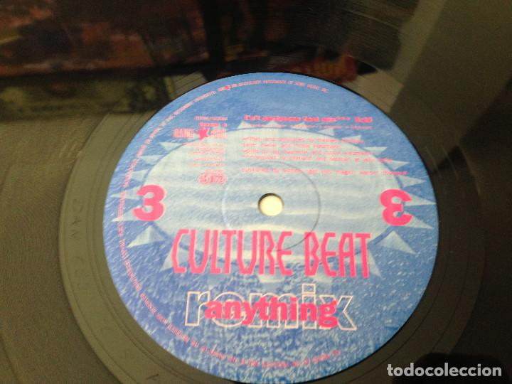 Discos de vinilo: DOBLE MAXISINGLE CULTURE BEAT - ANYTHING - 1993 - Foto 5 - 99386979