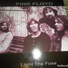 Discos de vinilo: PINK FLOYD - LIGHT THE FUSE LP - MADE IN EEC - VINILO ROJO - BBC 1968 BROADCAST -. Lote 99387991
