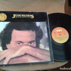 Discos de vinilo: DISCO LP JULIO IGLESIAS,MOMENTOS. Lote 99391275
