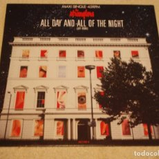 Discos de vinilo: THE STRANGLERS – ALL DAY AND ALL OF THE NIGHT (JEFF REMIX) MAXI-45 HOLANDA 1987 EPIC. Lote 99421279