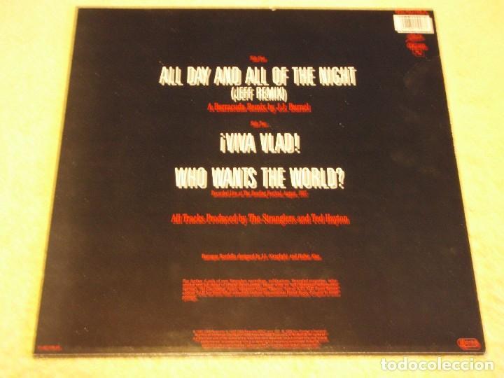 Discos de vinilo: The Stranglers – All Day And All Of The Night (Jeff Remix) Maxi-45 Holanda 1987 EPIC - Foto 2 - 99421279