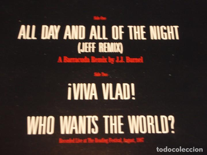 Discos de vinilo: The Stranglers – All Day And All Of The Night (Jeff Remix) Maxi-45 Holanda 1987 EPIC - Foto 3 - 99421279