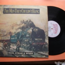 Discos de vinilo: THE MEN THEY COULDN´T HANG RAIN,STEAM & SPEED MAXI UK 1989 PDELUXE. Lote 99423887