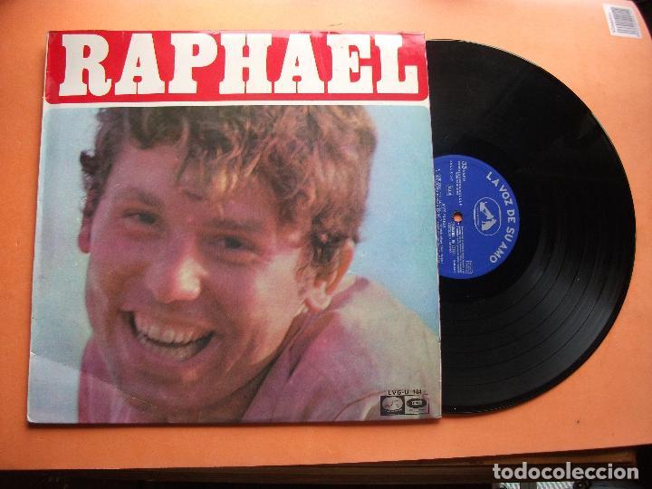 RAPHAEL - BSO BANDA SONORA EL GOLFO LP DE SELLO LA VOZ DE SU AMO SPAIN 1968 PEPETO (Música - Discos - LP Vinilo - Solistas Españoles de los 50 y 60)