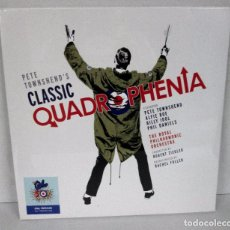 Discos de vinilo: PETE TOWNSHEND THE WHO - PETE TOWNSHEND'S CLASSIC QUADROPHENIA - 2 LP DOWNLOAD CARD - LIMITED - MINT. Lote 99445143