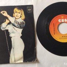 Discos de vinilo: RAFFAELLA CARRA – RUMORE - SINGLE 1975. Lote 99445643