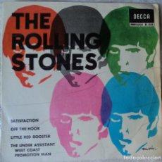Discos de vinilo: THE ROLLING STONES - SATISFACTION - EDICIÓN DE 1965 DE ESPAÑA. Lote 99447439