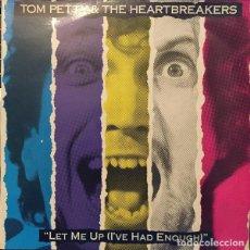 Discos de vinilo: TOM PETTY & THE HEARTBREAKERS - LP. LET ME UP I'VE HAD ENOUGH - ORIGINAL 1987 FOLK-ROCK, ROCK&ROLL. Lote 99449083