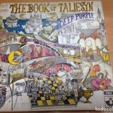 Discos de vinilo: LP DEEP PURPLE / THE BOOK OF TALIESYN DOBLE PORTADA EDITADO EN ITALIA POR EMI 1968. Lote 99453275
