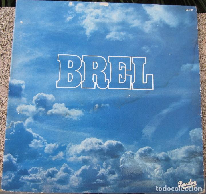 DISCO BREL (Música - Discos de Vinilo - Maxi Singles - Cantautores Extranjeros)