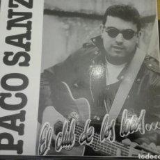Discos de vinilo: DISCO VINILO PACO SANZ. Lote 99463142