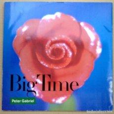 Discos de vinilo: PETER GABRIEL MX VINILO BIG TIME EXTENDER VERSION. Lote 100983230