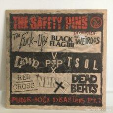 "Discos de vinilo: THE SAFETY PINS - 10"" - RECOPILATORIO PUNK MUNSTER RECORDS. Lote 99467235"