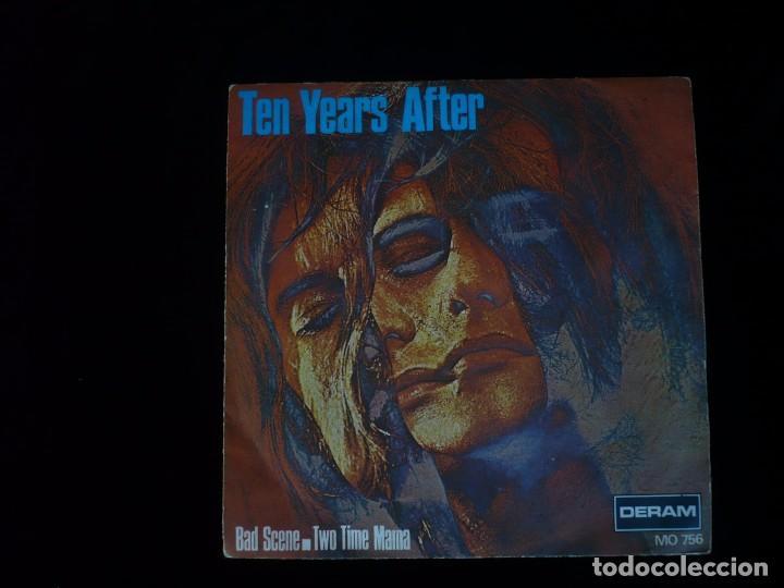 TEN YEARS AFTER, BAD SCENE (Música - Discos - Singles Vinilo - Otros estilos)