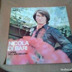 Discos de vinilo: DISCO VINILO LP NICOLA DI BARI I GIORNI DELL ARCOBALENO. Lote 99473635