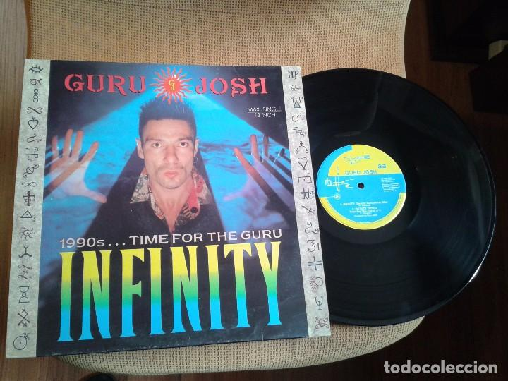 DISCO MAXI SINGLE VINILO GURU JOSH,INFINITY (Música - Discos de Vinilo - Maxi Singles - Disco y Dance)
