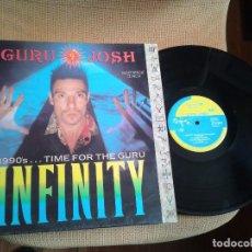 Discos de vinilo: DISCO MAXI SINGLE VINILO GURU JOSH,INFINITY. Lote 99475783