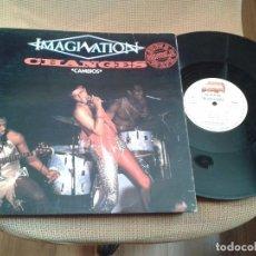 Discos de vinilo: DISCO MAXI SINGLE IMAGINATION ,CHANGES. Lote 99476299