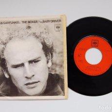 Vinyl-Schallplatten - SINGLE VINILO - SIMON & GARFUNKEL - THE BOXER - CBS 1969 - 99477599