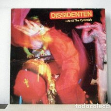 Discos de vinilo: DISSIDENTEN - LIFE AT THE PYRAMIDS 1986, WORLD BEAT - ORG EDT CANADA, LP PRECINTADO !!. Lote 99477639