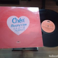 Discos de vinilo: DISCO MAXI SINGLE VINILO CHERI,MURPHYS LAW. Lote 99478567